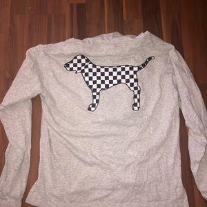 EUC PINK by Victoria's Secret drawstring hoodie